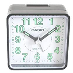 TQ140 Travel Alarm Clock - Bla