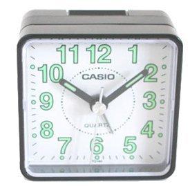 Casio TQ140 Travel Alarm Clock - Bla Clock Radios - 1