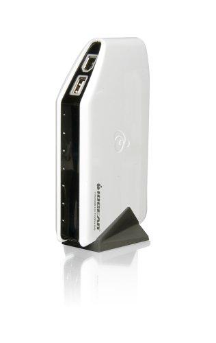 IOGEAR USB 2.0 / FireWire Combo Hub GUH420 – Hub – 4 x Hi-Speed USB + 3 x IEEE 1394 (FireWire) – desktop