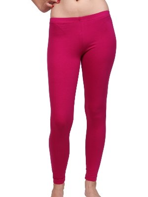 Moontree Women's Cotton Spandex Jersey Legging