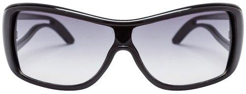 Fastrack Oval Sunglasses (Black) (P172PR3F)