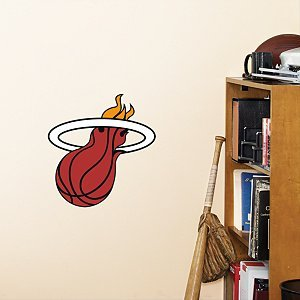 Miami Heat Fathead Wall Graphic Teammate Logo