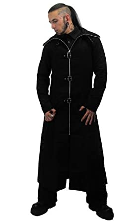 Buy Necessary Evil Mens Highwayman Full Length Coat by Necessary+Evil