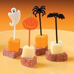 12 ct Halloween Cupcake or Appetizer Picks - 1