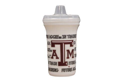 NCAA TEXAS A&M AGGIES SIPPY CUP WITH LID - 1