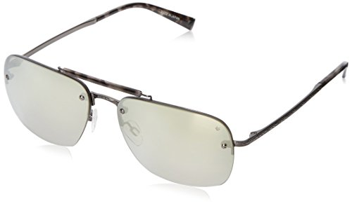 John-Varvatos-Mens-V511-V511GUN60-Rectangular-Sunglasses-Gunmetal-60-mm