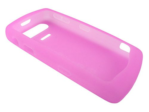 Genuine BlackBerry Pearl 8110 8120 8130 PINK Silicone Case / Skin