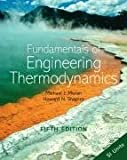 Fundamentals of Engineering Thermodynamics: Si Version (0470030372) by Moran, Michael J.