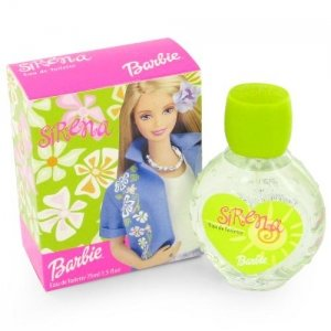 Barbie Sirena per Donne di Mattel - 75 ml Eau de Toilette Spray (Pink Cap Bottle)