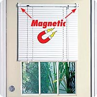 Full Door Magnetic Blinds