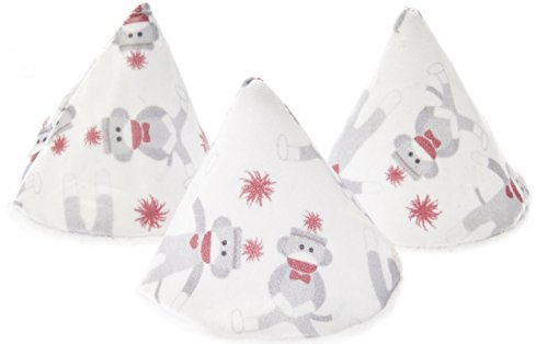 Pee-pee Teepee Sock Monkey White - Cello Bag