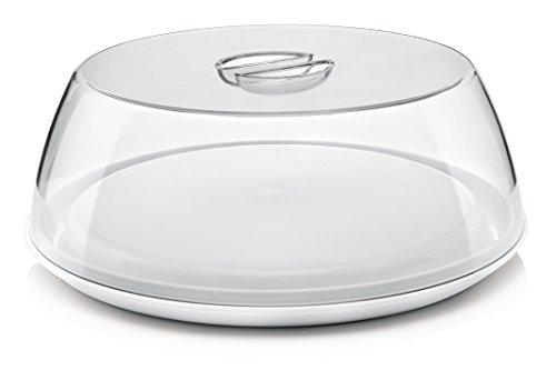 Guzzini Forme Casa 138454-11 Tortiera, Plastica, Bianco, Diametro 33.5 cm