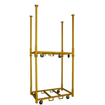 American Cart and Equipment Table Storage Cart with 33