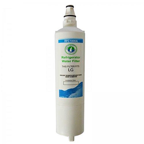 Rfc-1000A Compatible Water Filter For Lg---Lt600P;5231Ja2005A ; 5231Ja2005A-S ; 5231Ja2006 ; 5231Ja2006A ; 5231Ja2006A-S ; 5231Ja2006B ; 5231Ja2006B-S ; 5231Ja2006E ; 5231Ja2006F ; 5231Ja2006F-S ; 5231Ja2006H ; 5231Jj2001C; Kenmore---9990 ; 9990P ; 046099 front-136123