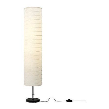 Ikea 301.841.73 Holmo 46-Inch Floor Lamp, White (Pack Of 3) Height: 46 Inches, Shade Diameter: 9 Inches, Cord Length: 9 Feet 2 Inches Rice Paper Shade Light Bulbs Are Sold Separately. Ikea Recommends Ledare Led Bulb E26 400 Lumen