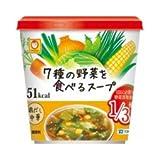 マルちゃん 7種の野菜を食べるスープ 鶏だし中華 6個