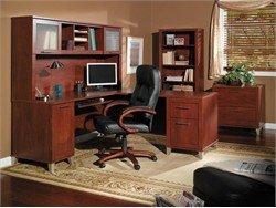 Home Office Furniture Desk Set 1 - Somerset Collection - Bush Office Furniture - SOM-OSET-1-HC