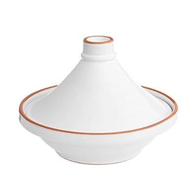 Premier Women's Calisto Tagine For Pasta, Terracotta with White Enamel (1 Piece) from Premier