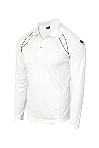 763b5488 GM 7205 Full Sleeve T-Shirt, XX-Large (White/Navy)@715 Rs [Mrp:-715 ...