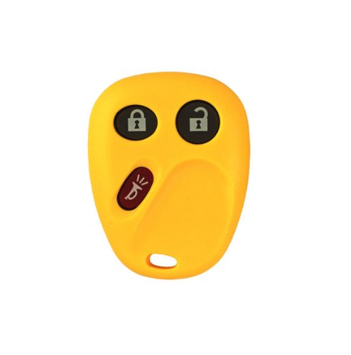 2003-2006 Chevrolet Avalanche Keyless Entry Remote Key Fob w/ Free DIY Programming Instructions - Yellow avalanche аккумулятор в харьков