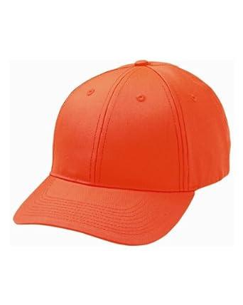 Blaze Orange Cap, Color: Blaze Orange, Size: One Size