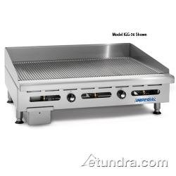 "Imperial - Igg-72 - 72"" Grooved Gas Griddle"
