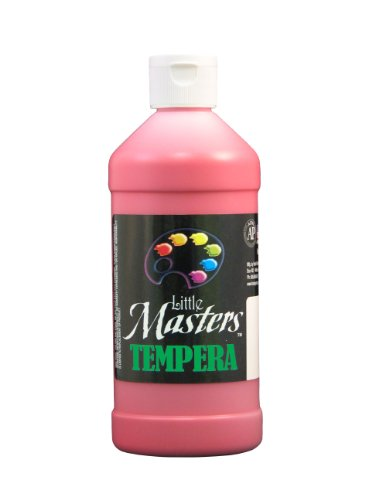 Little Masters by Rock Paint 201-720 Tempera Paint, 1, Red, 16-Ounce