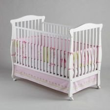 Little Bedding By Nojo 4 Piece Princess Rose Bumper Set - 1