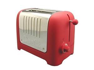 Dualit 25371 Lite 2-Slice Toaster, Red