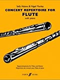 Concert Repertoire for Flute (0571521649) by Adams, Sally