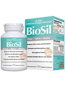Biosil Hair, Skin, and Nails 120 VegiCaps