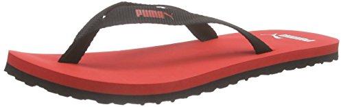 PumaSun Flip - Infradito Unisex - Adulto , Rosso (Rot (puma red-black 02)), 38