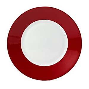 "Soho Red 11"" Dinner Plate [Set of 6]"
