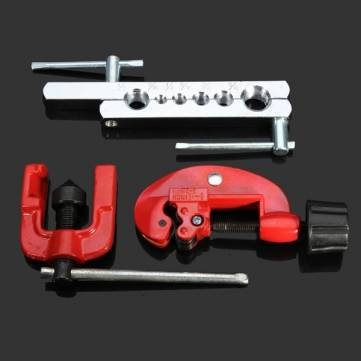 Bheem 3pcs Flaring Tool Kit Tube Cutter Swaging Tool Refrigeration Tools