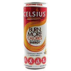Celsius Celsius Sparkling Cola 12 - 12 fl oz  Cans