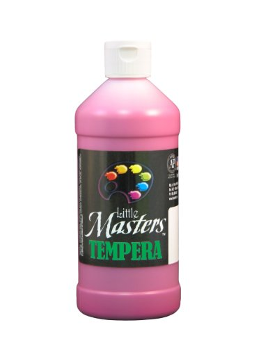Little Masters by Rock Paint 201-725 Tempera Paint, 1, Magenta, 16-Ounce