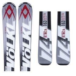 Volkl Rtm 7.4 Alpine Skis SILVER 156: Amazon.co.uk: Sports
