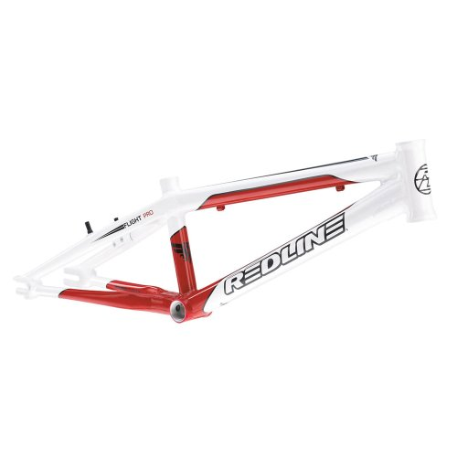 Redline 2012 Flight R6 Pro Frame - White/Red