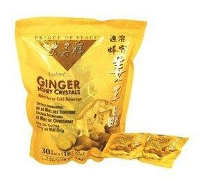 Instant Ginger Honey Crystals Pack of 30 Bags - 18 g Sachets