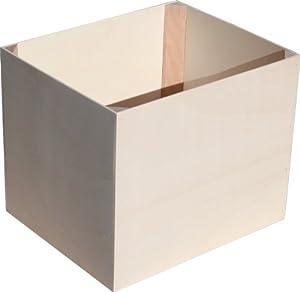 boomwhackers aufbewahrungsbox aus holz 40x33x33 cm musikinstrumente. Black Bedroom Furniture Sets. Home Design Ideas