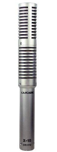 Cascade Microphones X-15 Ribbon Microphone (With Lundahl Ll2912)
