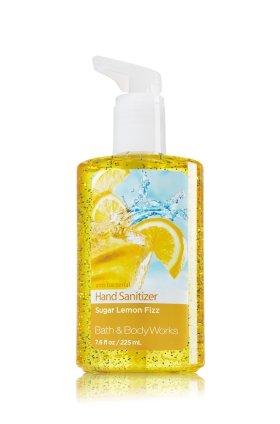 Bath & Body Works Sugar Lemon Fizz Full Size Hand Sanitizer