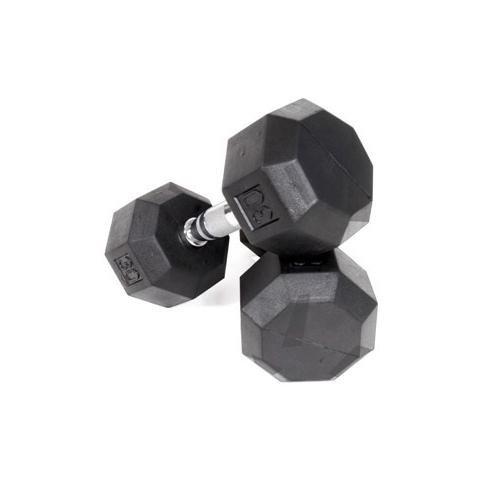 Purchase VTX Rubber Encased Octagonal Dumbbells (9 in. Dia x 12 in. H (20 lbs.))