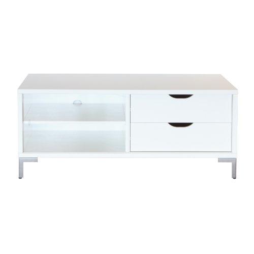 3257030050000F TV Tisch 37,5 kg, weiß