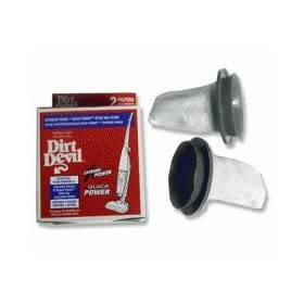 Dirt Devil Filter, for Extreme Power Stick Vacuum (2 filters)