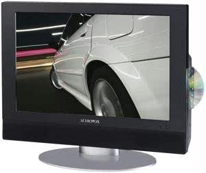 "Audiovox 19"" Flat Panel LCD TV with Built-in DVD Player & Card Port/USB"