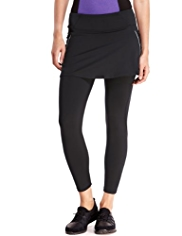 M&S Collection Active Performance Skirted Ruched Leggings
