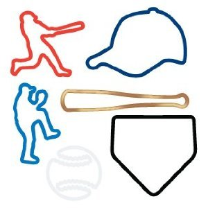 Silly Bandz Baseball Shapes - 24 Pack