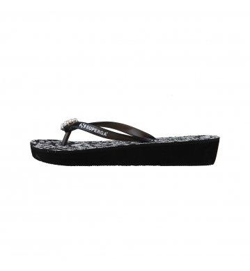 superga - nu-pieds et tongs Superga - BRANDS_61842 - 36, Noir