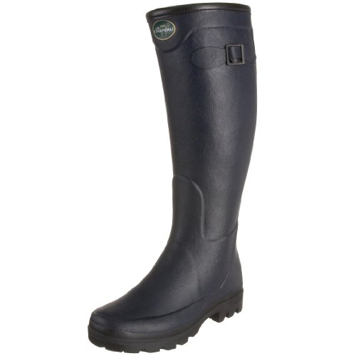 Le Chameau Ladies Country All Track Wellington Boots (41, Navy)